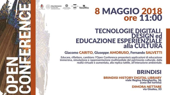 Tecnologie Digitali, Design ed Educazione Esperienziale
